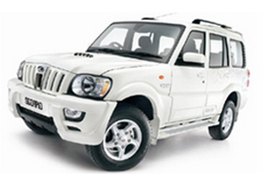 scorpio car by himachal tour guide